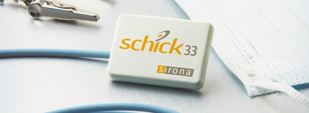 Still image of the Schick 33 digital intraoral sensor